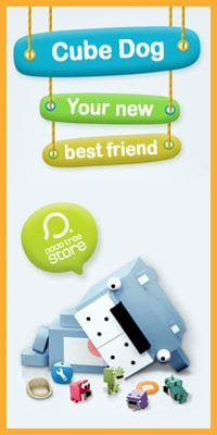 cube dog on facebook iphone app review