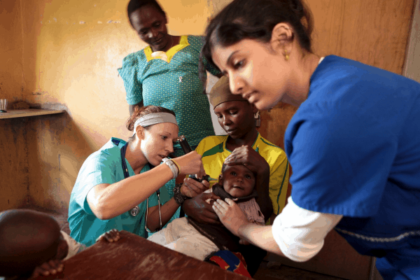 Providing Healthcare in Kenya Through Chamberlain College of Nursing's Service Project